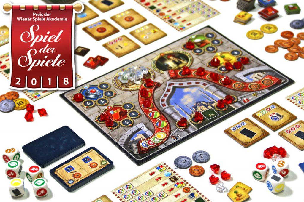 Spiel der Spiele 2018 - Istanbul - Das Wuerfelspiel